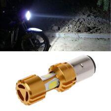 BA20D LED COB Motorcycle Bike Hi/Lo Headlight Lamp Bulb DC 6500K 10-80V 1500LM