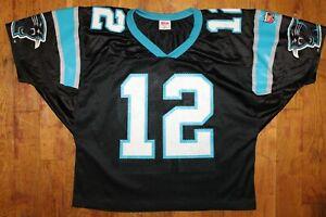 Vintage Wilson Sports Carolina Panthers Kerry Collins #12 Jersey