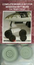 Signifer 1:32 Messerschmitt Me-262 Complete Wheels Trumpeter Detail Set #Sn32005