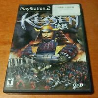 Kessen Sony PlayStation 2 PS2 KOEI EA Electronic Arts tactical strategy warfare