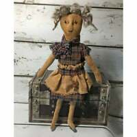 Handmade Small Primitive Rag Doll, Cloth Doll, Ragamuffin Primitive Doll