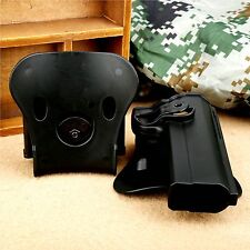 Tactical Right Handed Retention Holster Double Magazine Pouch for PT1911 Pistols
