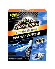 Armorall Ultra Shine Wash Wipes - 12ct