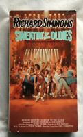 Richard Simmons Sweatin to the Oldies VHS Tape 1990 Exercise Workout