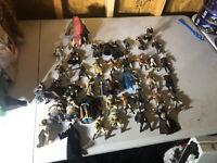 Lot Of 44 Star Wars Action Figures 1996-2005 Huge Lot