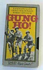 Gung Ho!  VHS Tape RSVP Movie Greats!
