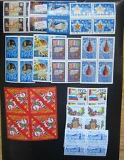 Russia, New Year collection 52 stamps in blocks, MNH