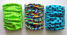 3 pk Male LARGE Tye Dye Dog Diaper Belly Band Elastic Wrap 17 18 19 20 21 inch