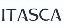 ITASCA LARGE BLACK Decal Sticker Emblem RV Motorhome Winnebago Trailer Travel