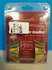 Gainsborough 850 Double Cylinder Deadbolt - Brass