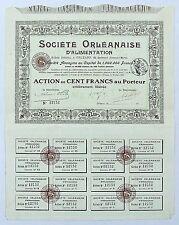 Dépt 45 Orléans 69 Bld Alexandre Martin - Ste  Orléanaise d'Alimentation de 1912