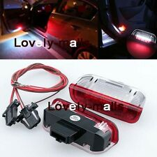 Premium White Red LED Side Door courtesy Lights For VW Golf GTi EOS Jetta Passat