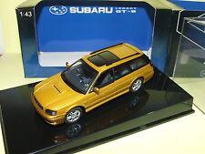 SUBARU LEGACY GT-B Gold AUTOART 1:43