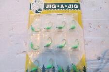 12 Jig-a-jig-bit 1/16 oz. Fishing walleye crappie bass, ice fish, ,green