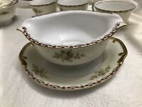 MEITO CHINA JAPAN 22 PIECE MULTI FLORAL AND SCROLLING  Dinnerware