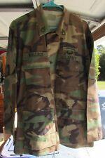 US Army BDU - 1st Army , CIB , Air Assault Patch- SFC - Lrg/Reg- Named!