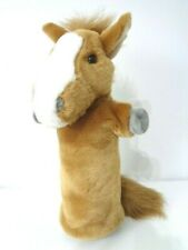 Puppet Company Chestnut Horse Pony Long Sleeve Hand Puppet 15 inch tall