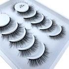6 Pairs 3D Fake Eyelashes Natural short Makeup Thick Cross Eyelashes Eye Lashes