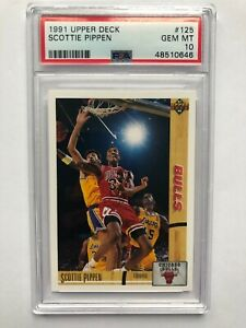 Scottie Pippen #125 - 1991 Upper Deck - PSA 10 GEM MT