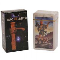 Tarot of the 78 Doors Russian Edition 78 Cards Deck MINI Pocket
