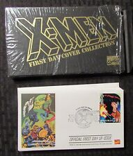 1995 X-MEN First Day Cover Collection VF+ 8.5 in Original Box