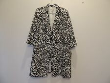 New with tags Evan Picone size 18 woman black & white coat