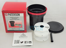 PATERSON SUPER SYSTEM 4 UNIVERSAL DEVELOPING TANK + 2 REELS priority shipping