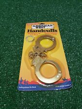 TOOTSIE TOY AMERICAN WEST DIE-CAST METAL HANDCUFFS 1997
