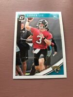 Tanner Lee Rookie Card: 2018 Panini - Donruss Optic Football - Jaguars