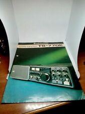 KENWOOD TS-770E BROCHURE ORIGINALE RADIO HF