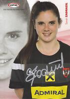 Sarah ZADRAZIL - Fussball-Nationalspielerin Österreich, ÖFB-Karte, Original!