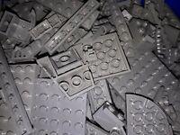 500 Gramm 0,5 Kg Lego Steine Neues Dunkelgrau Star Wars Ninjago Konvolut Dark