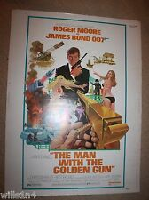 Roger Moore as James Bond in The Man With the Golden Gun Original Movie Theater