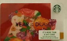 Starbucks 2018 YEAR OF THE DOG Card