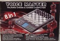 Talking Chess & Games Computer 8-in-1 by Voice Master PowerBrain