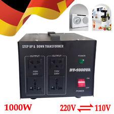 Spannungswandler Transformator 220V To 110V Step-up/down Voltage Converter 1000W