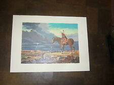 Limited edition Indian print by Blare native american indian