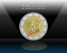 MONACO 2 EURO  2013 (20 Years since it Joined the UN) Commem. coin *UNCIRCULATED