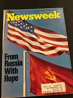 NEWSWEEK MAGAZINE JUNE 5 1972 RUSSIA PAT AND RICHARD NIXON GEORGE MCGOVERN