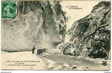 CPA - Carte postale -France- Vercors - Gorges des Petits Goulets - La Route - 19
