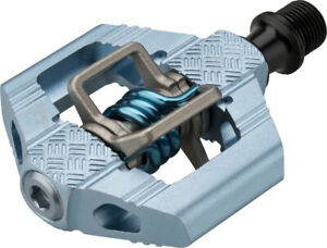 """Crank Brothers Candy 3 Pedals - Dual Sided Clipless, Aluminum, 9/16"""", Slate Blue"""