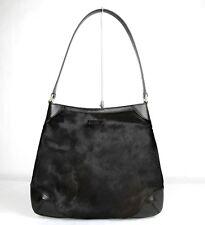 New Authentic Gucci Brown Pony Hair Hobo Handbag 3 257296 3062