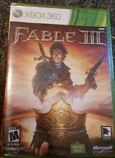 Fable III (3)  (Xbox 360, 2010) Brand New Factory Sealed