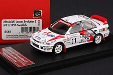 Lancer Evo II Car #11 1995 Swedish Rally -- Snow Tires -- HPI #8548 1/43