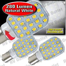 2 pk 1156 / 1141 Base LED Replacement Bulb 280 LUM 10-24v Natural White