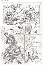 G.I. Joe #5 pg 11 CROC MASTER ORIGINAL Pencil Art  by Steve Kurth