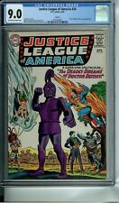 JUSTICE LEAGUE OF AMERICA 34 CGC 9.0 CIRCLE 8 NEW NON-CIRCULATED CASE JOKER DC
