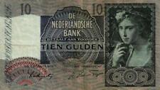 05 Netherlands / Niederlande P56b 10 Gulden 1941