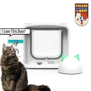 SureFlap Microchip Dualscan Pet Door Cat Flap Connect With Hub App Controlled