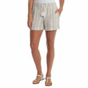 Briggs Ladies' Linen Blend Pull-On Shorts